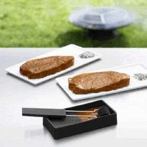 Quatro steaktallerken lille (2 stk)