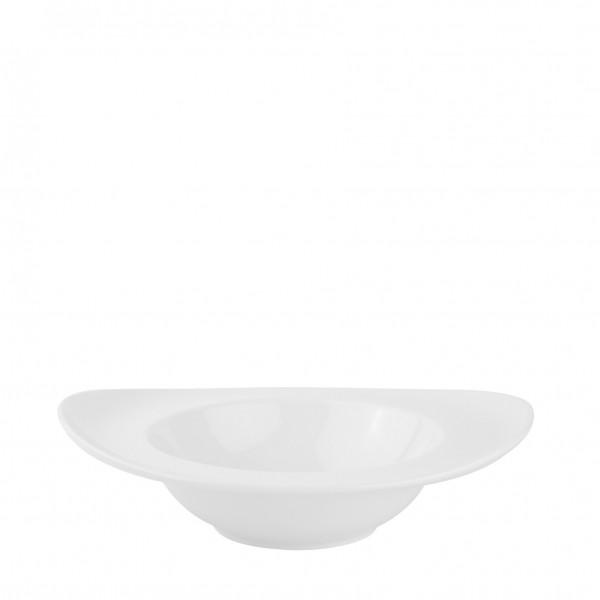 Skål i hvid porcelæn 4 stk.